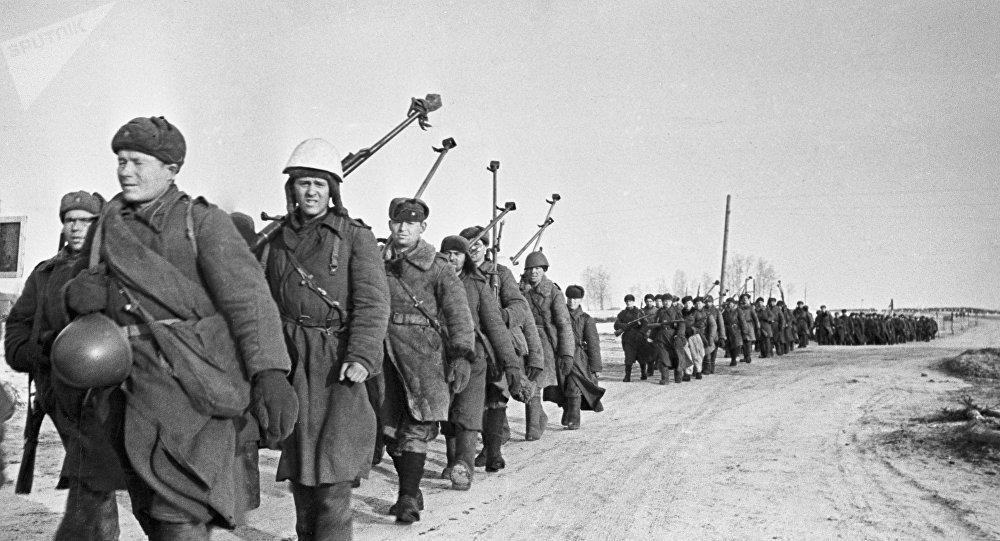 Tropas na Neve - Primeira Guerra Mundial
