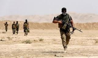 العراق : الحشد الشعبي يعلن تحرير مطار المالحة جنوب شرق الحويجة في محافظة كركوك