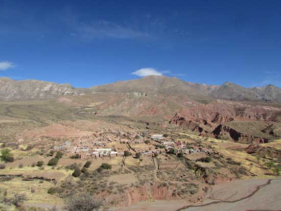 Esmoraca Bolivien