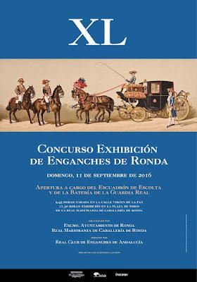 XL CONCURSO EXHIBICIÓN DE ENGANCHES - FERIA DE PEDRO ROMERO 2016