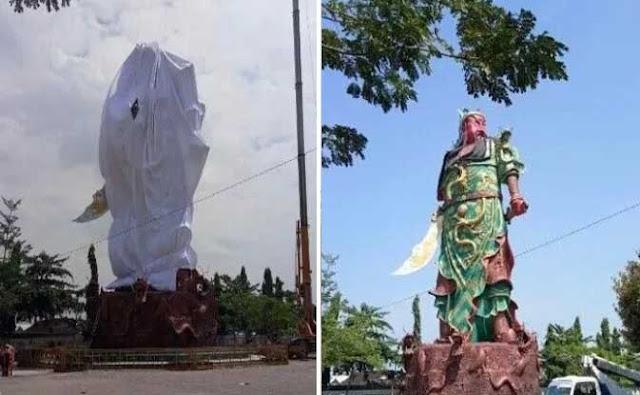 Besok, Bhoemipoetra Menggugat Datangi DPRD Tuntut Perobohan Patung Jendral China