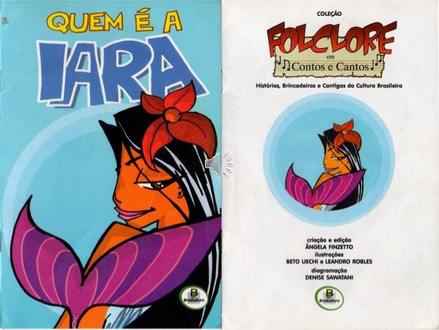 Lenda da Iara Folclore Brasileiro