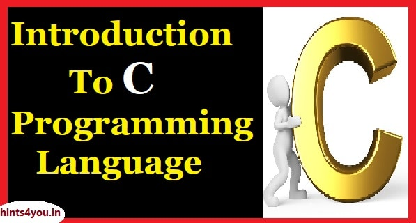 C programming language is a standardized programming language which was developed by Dennis Ritchie and Ken Thompson in early 1970s at bells lab. It is one of the Best and most widely used programming languages It was designed to provide the access to low-level map and to require less runtime support.