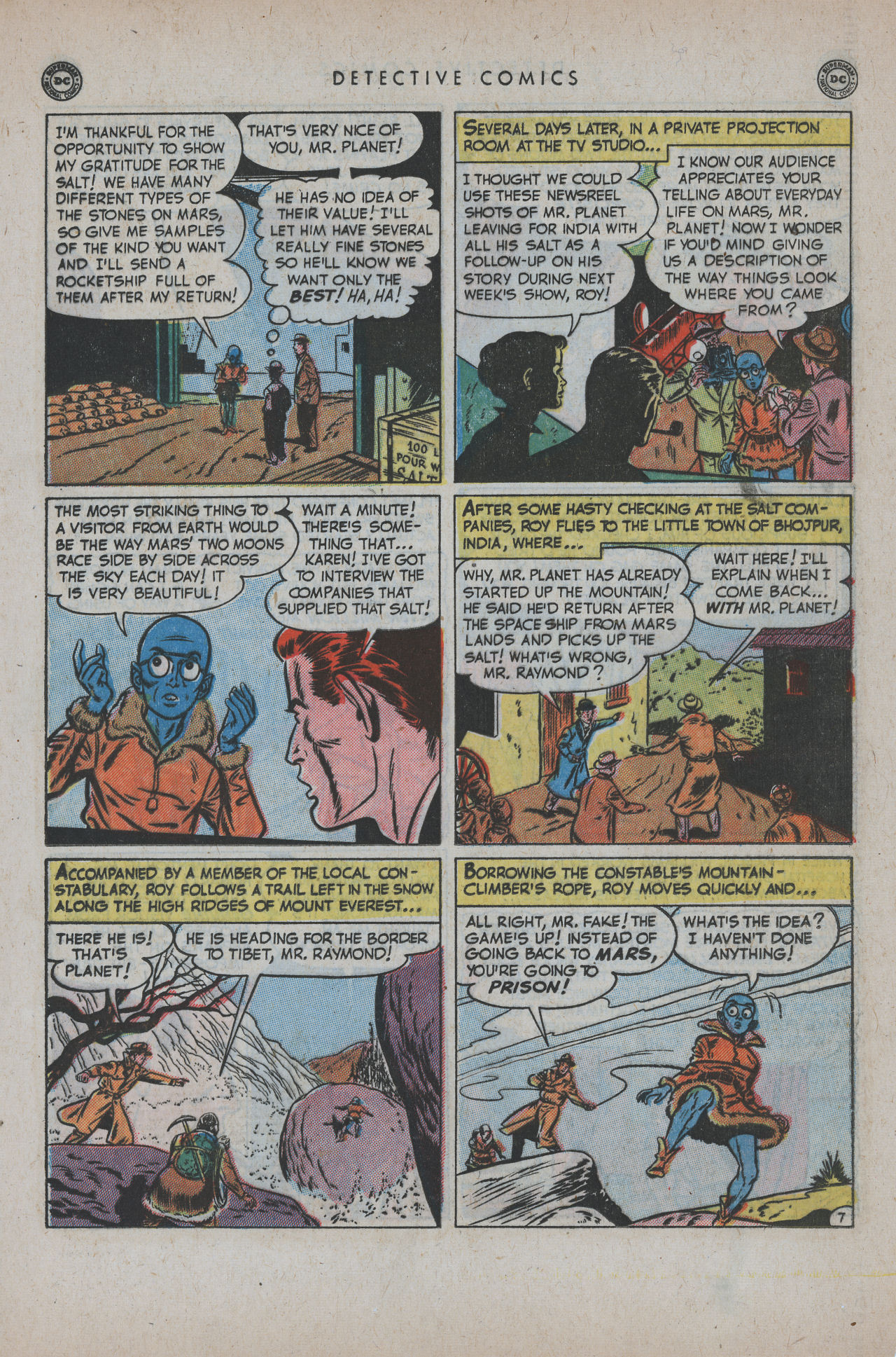 Detective Comics (1937) 171 Page 22