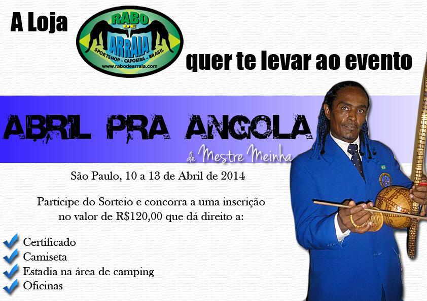Evento Capoeira Abril pra Angola