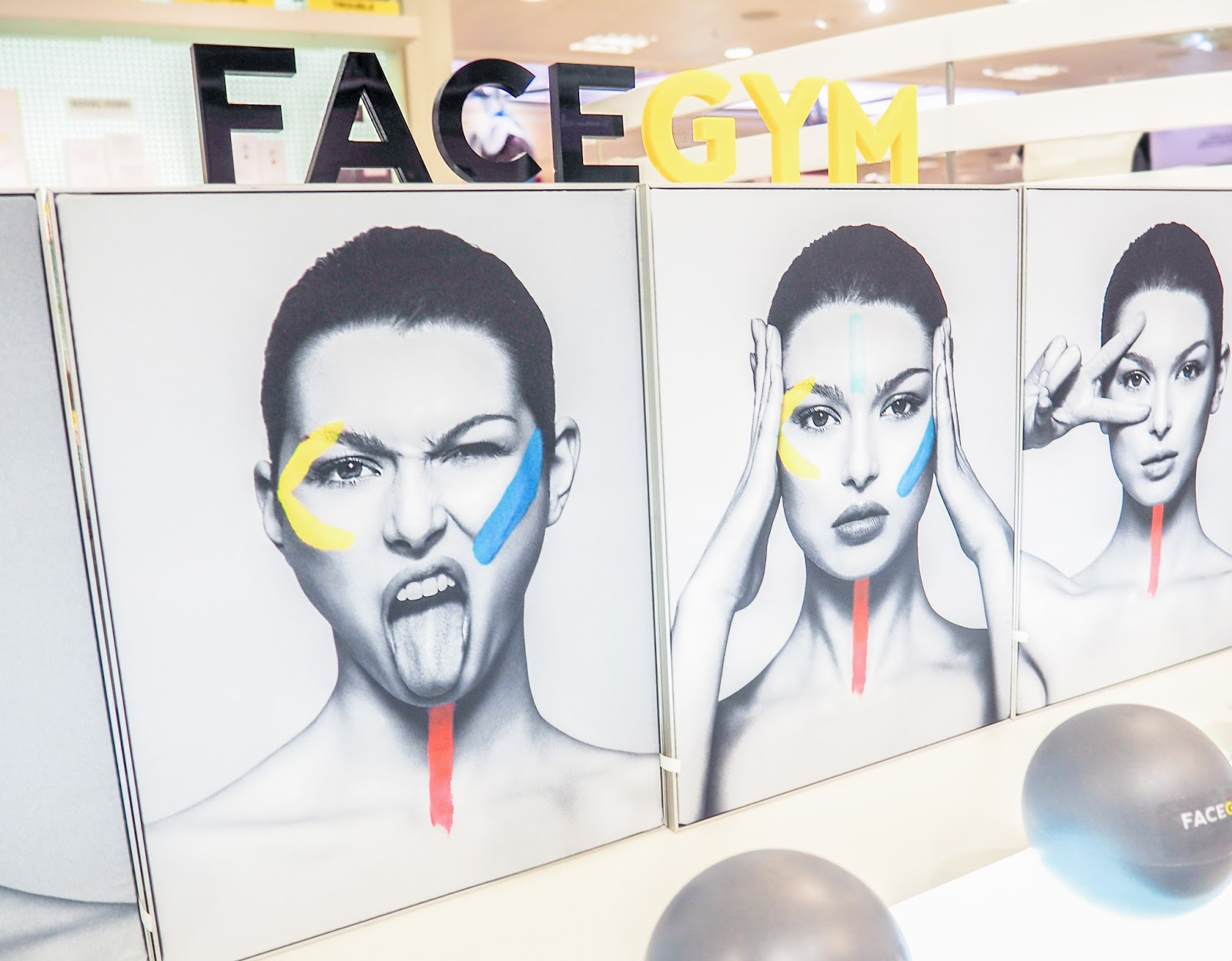 FaceCamp FaceGym Selfridges