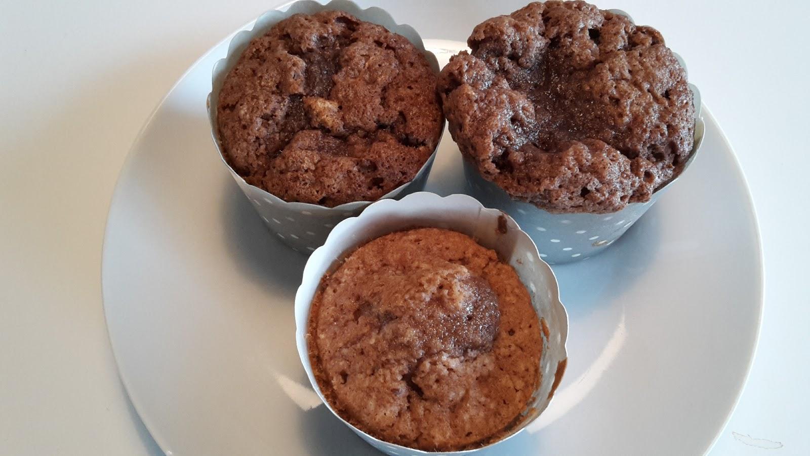 svampede muffins med kærnemælk