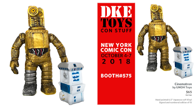 New York Comic Con 2018 Exclusive Star Wars Edition Cinematron Vinyl Figure by UHOH Toys x DKE Toys