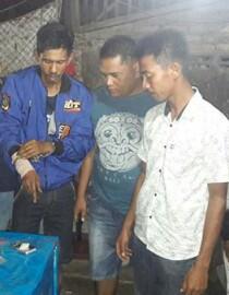 Penangkapan tersangka narkoba di Asahan.