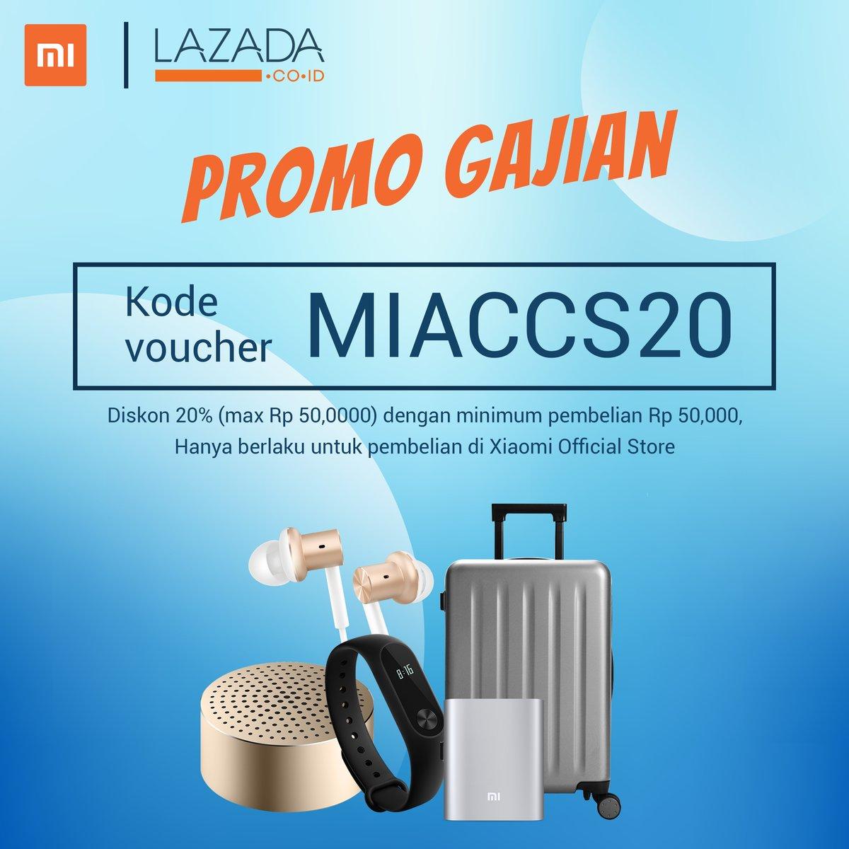 Lazada Voucher Promo Diskon 20 Di Xiaomi Official Store Promosi247 Tempatnya Info Promosi Diskon Terbaru
