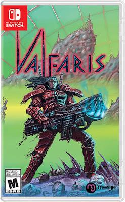 Valfaris Game Cover Nintendo Switch