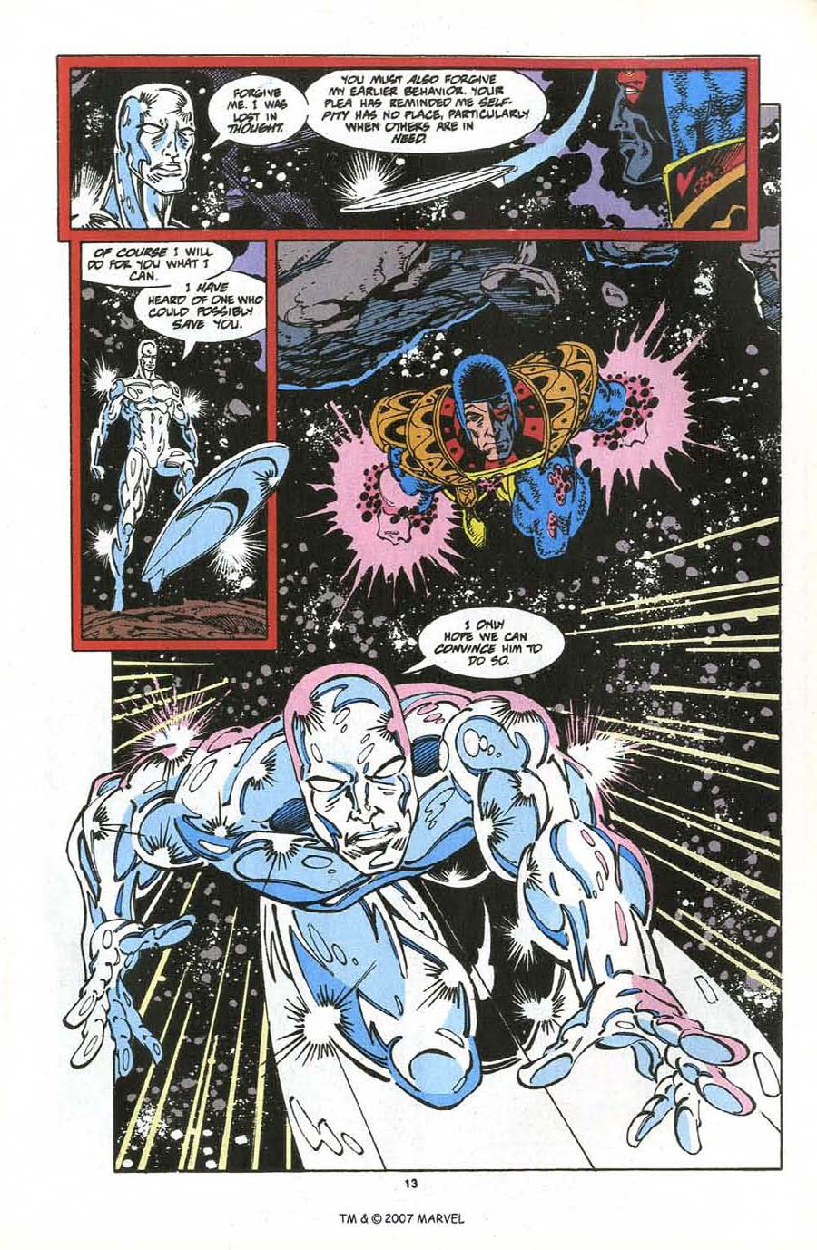 Read online Silver Surfer (1987) comic -  Issue #76 - 15
