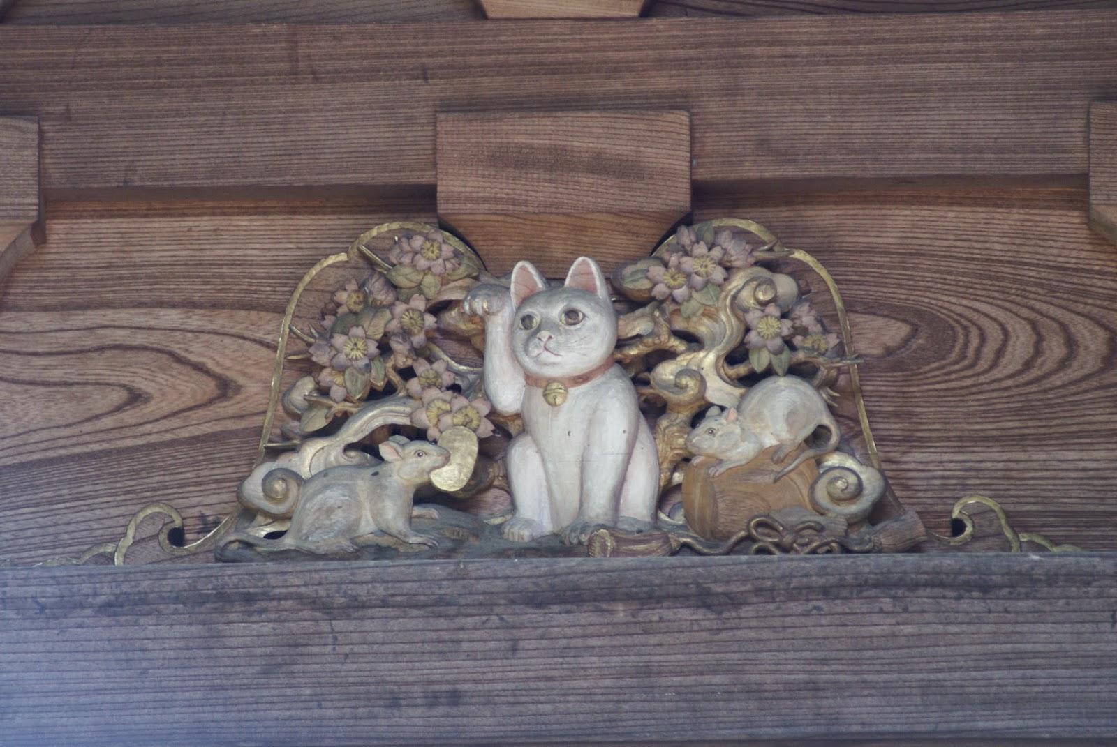 temple du chat tokyo