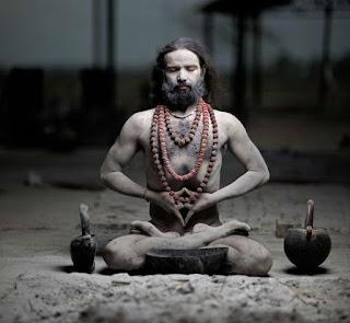 Um mestre Yogi