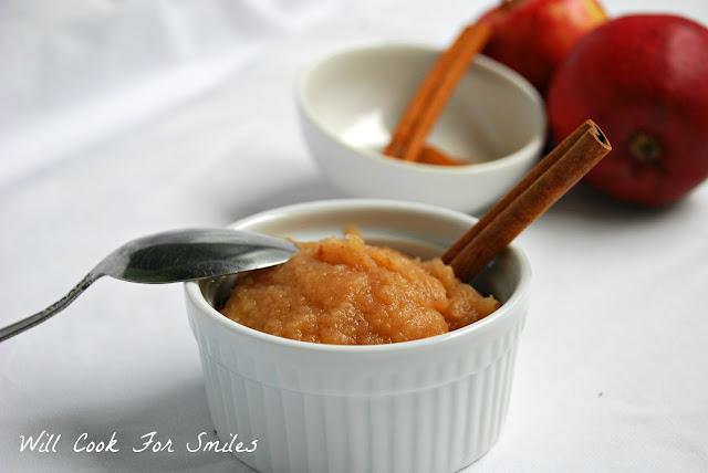 homemade baked applesauce