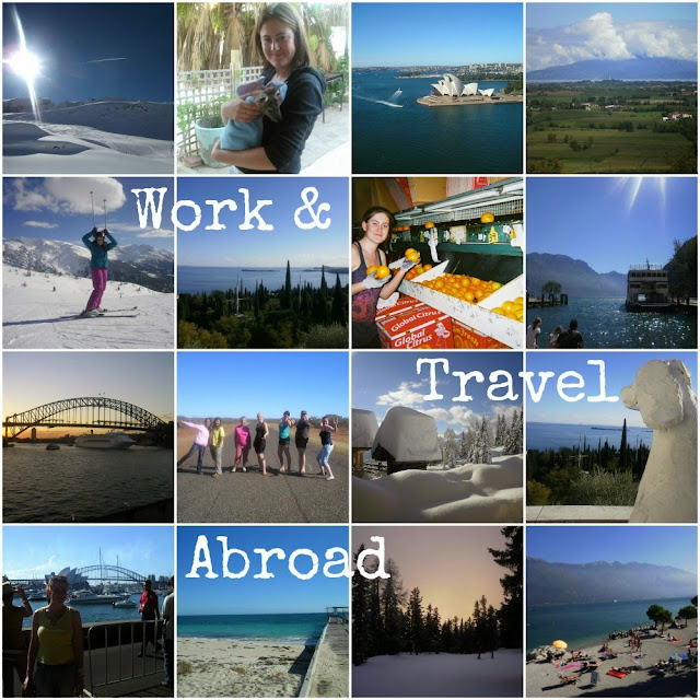 Working and Traveling abroad chalet hosting Australia farm work ski resort au-pair