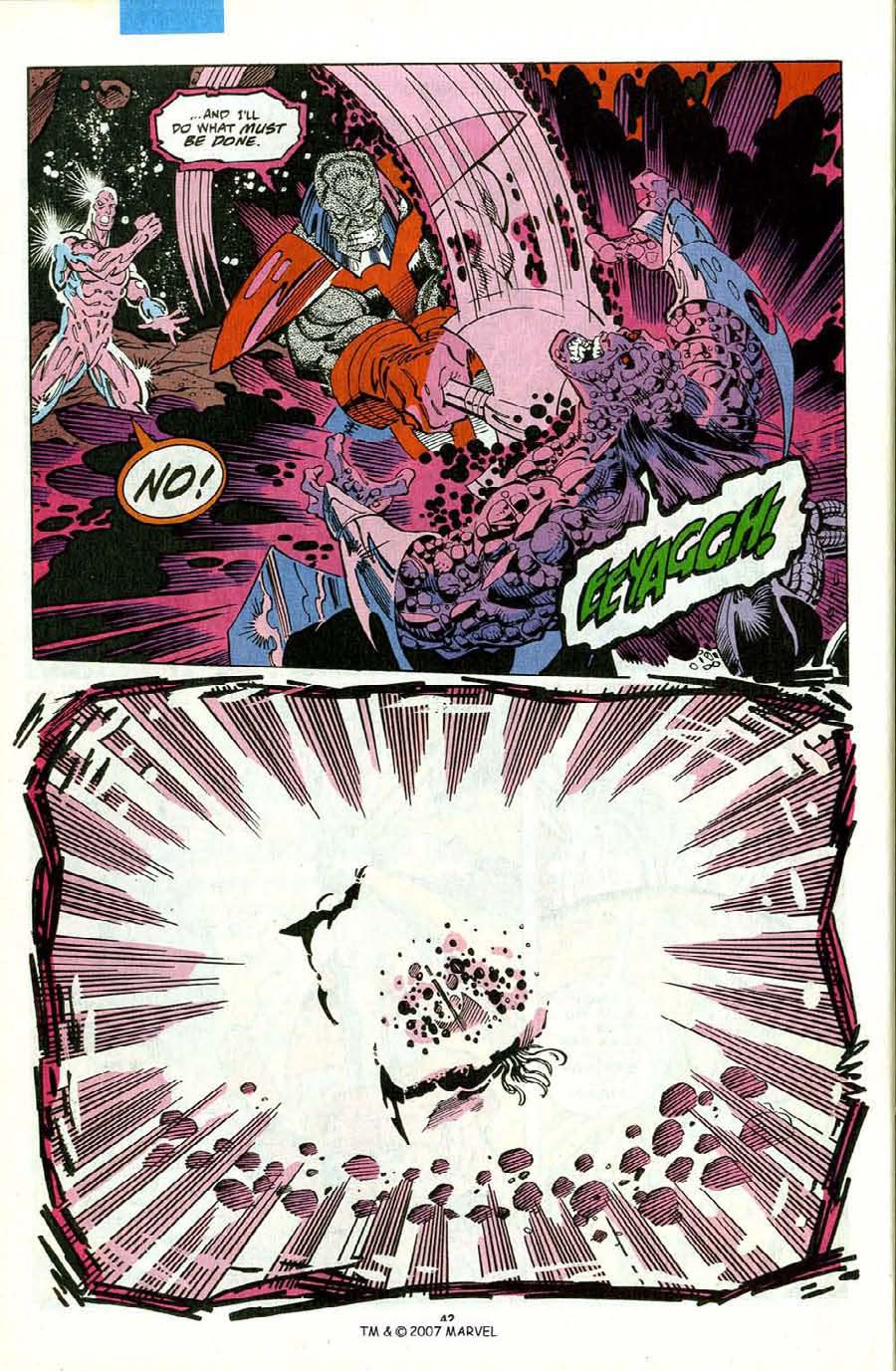 Read online Silver Surfer (1987) comic -  Issue #75 - 44