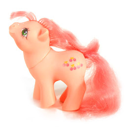 My Little Pony Baby Cherries Jubilee Germany  German Play and Care Sets G1 Pony