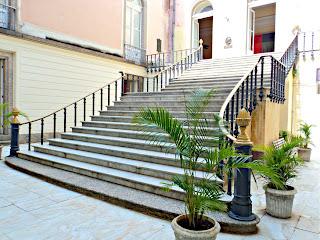 Escadaria no Interior do Museu Nacional do Rio de Janeiro