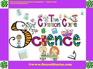 FREE Third Grade (3rd Grade) Common Core Science Posters