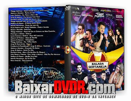 Balada Sertaneja (2017) DVD-R
