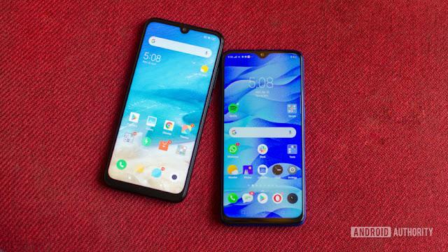Realme 3 Pro vs Redmi Note 7 Pro homescreen