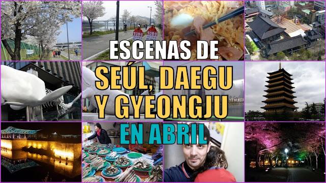Vídeos de Corea del Sur en abril