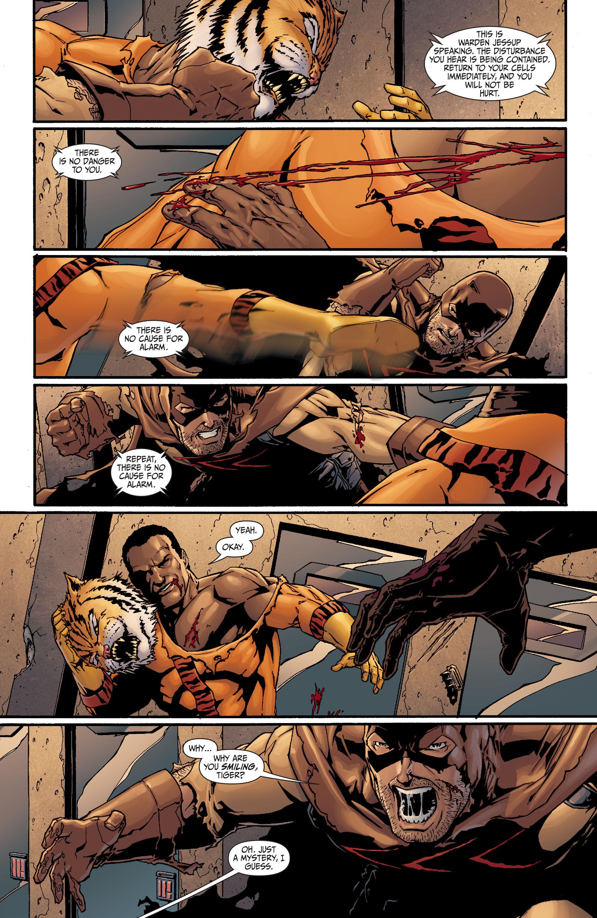 Read online Secret Six (2008) comic -  Issue #17 - 12