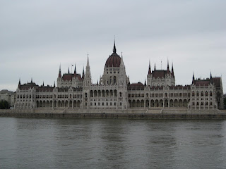 View of the Parliament Building from the Buda side