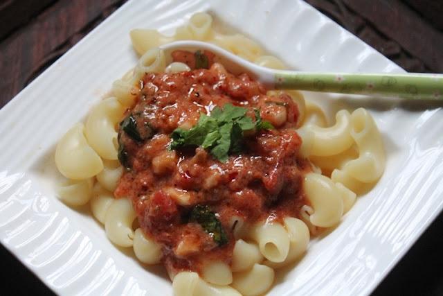 Pasta with Tomato Cream Sauce Recipe – Creamy Tomato Pasta Recipe