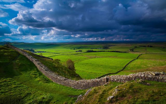 Tembok Hadrian, Inggris