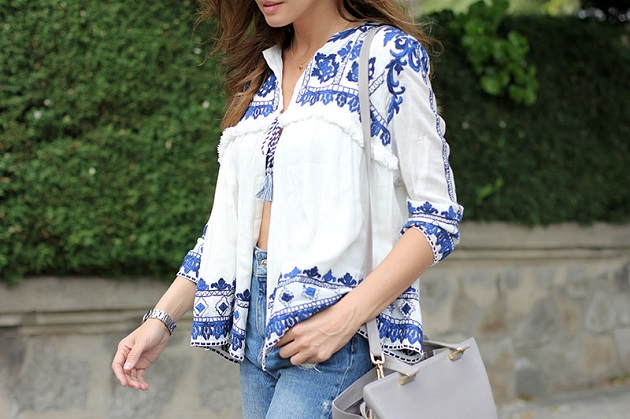 Zara Trends; Jacket Again Again Embroidered Zara Jacket Zara Embroidered Trends; Trends; Embroidered Jacket nw80OPk