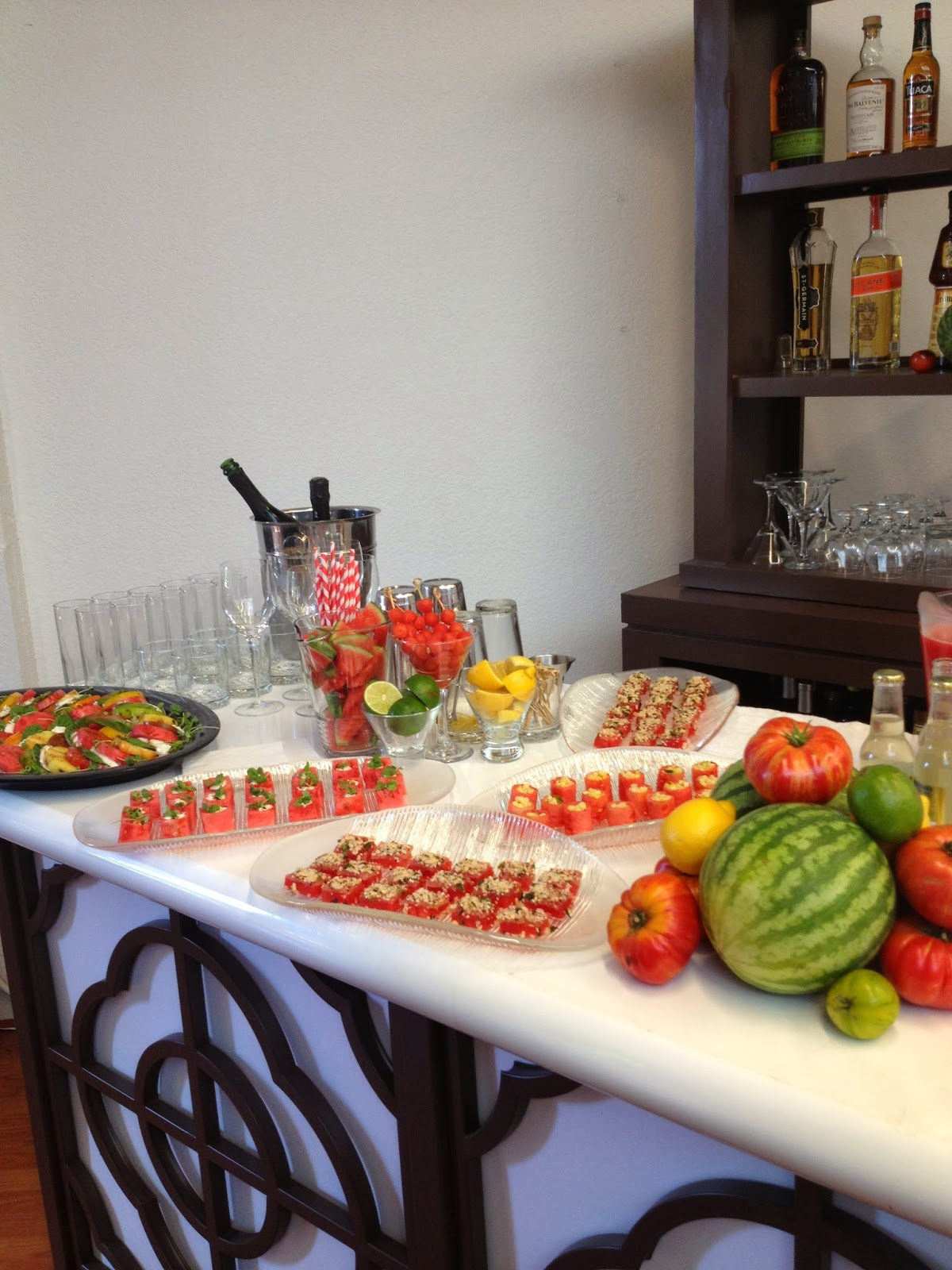 A Watermelon Themed Baby Shower Unique Catering Ideas