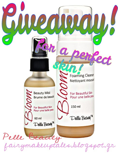 "Win a ""Bloom""Set by Pelle Beauty, for a Perfect Skin!"