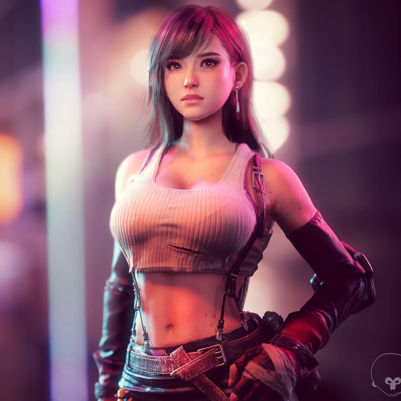 Tifa Lockhart, Final Fantasy 7 Remake, 4K, #9 Wallpaper