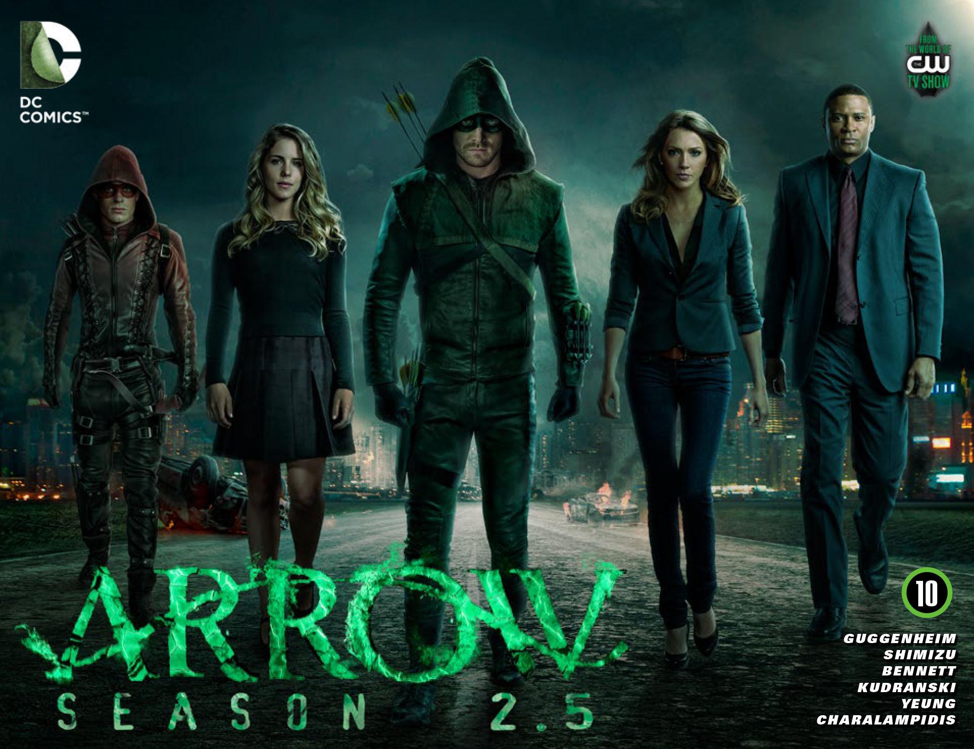 Read online Arrow: Season 2.5 [I] comic -  Issue #10 - 1