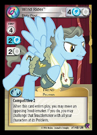 My Little Pony Wind Rider, Dirty Pool Marks in Time CCG Card