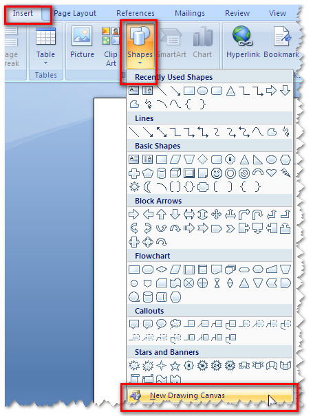 Add A Border To A Drawing Object ~ Microsoft Office Support