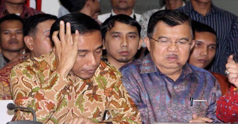 Akibat Beda Sikap Politik, Duet Jokowi-JK Bubar