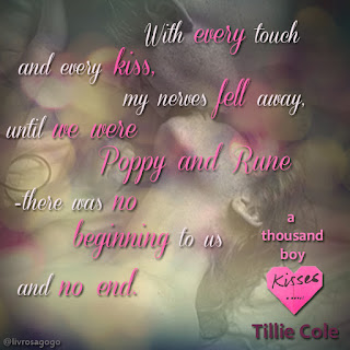 trecho do livro a thousand boy kisses - tillie cole