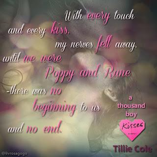 trecho do livro a thousand boy kisses - tillie cole