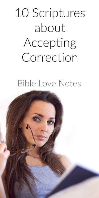 Accepting Correction - 10 Scriptures