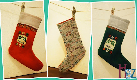 Little Christmas Stockings Tutorial