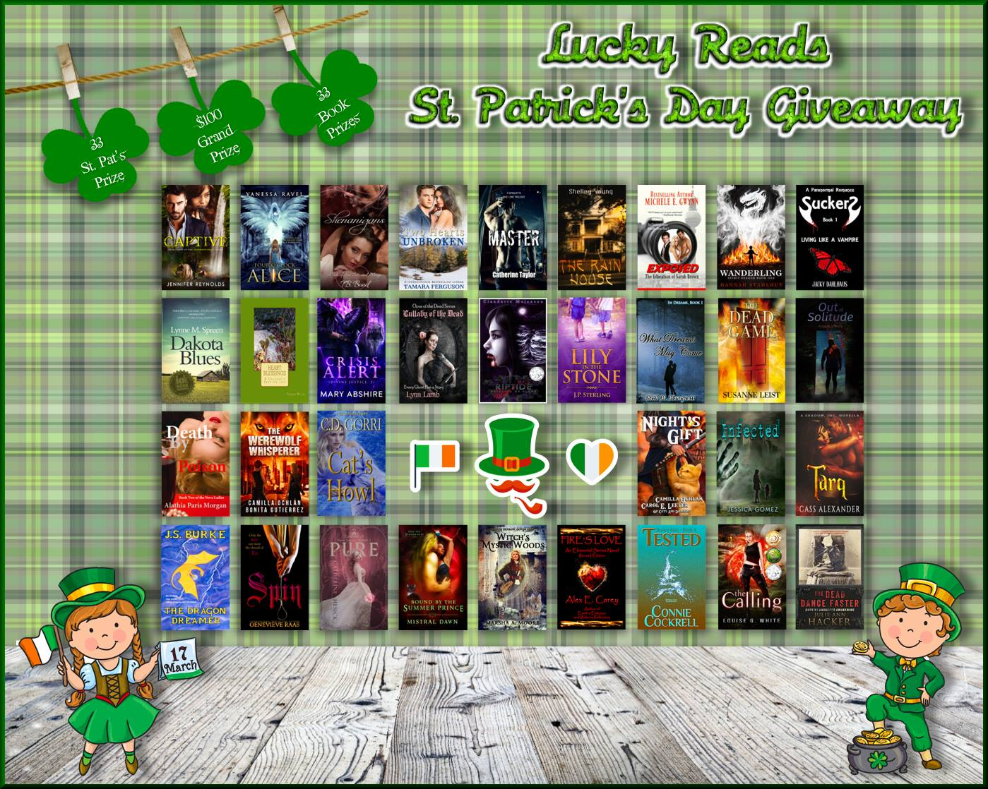 LUCKY READS ST. PATRICK'S DAY GIVEAWAY