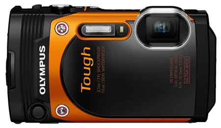Olympus TG-860 Digitalkamera 16 Megapixel mit BSI CMOS-Sensor WiFi und Full HD