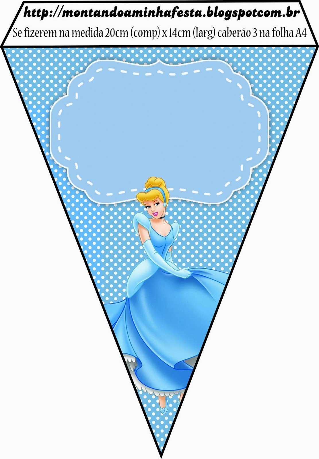 Cinderella: Free Printable Invitations, Party Printables