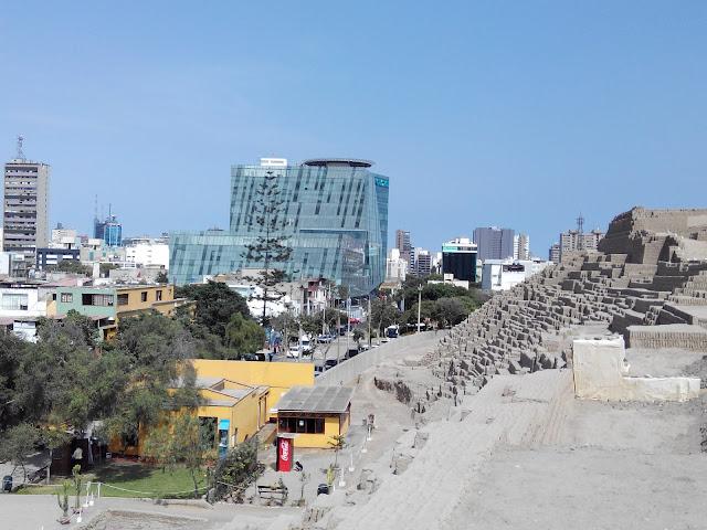 Huaca Pucllana en Lima Perú