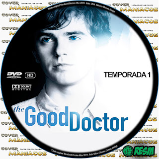 GALLETA THE GOOD DOCTOR - EL BUEN DOCTOR - 2017 [COVER-DVD]