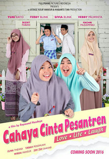 Download Film Indonesia Cahaya Cinta Pesantren 2016 DVDRip