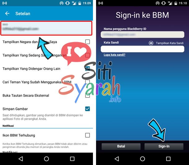 ubag kata sandi bbm android dan iphone